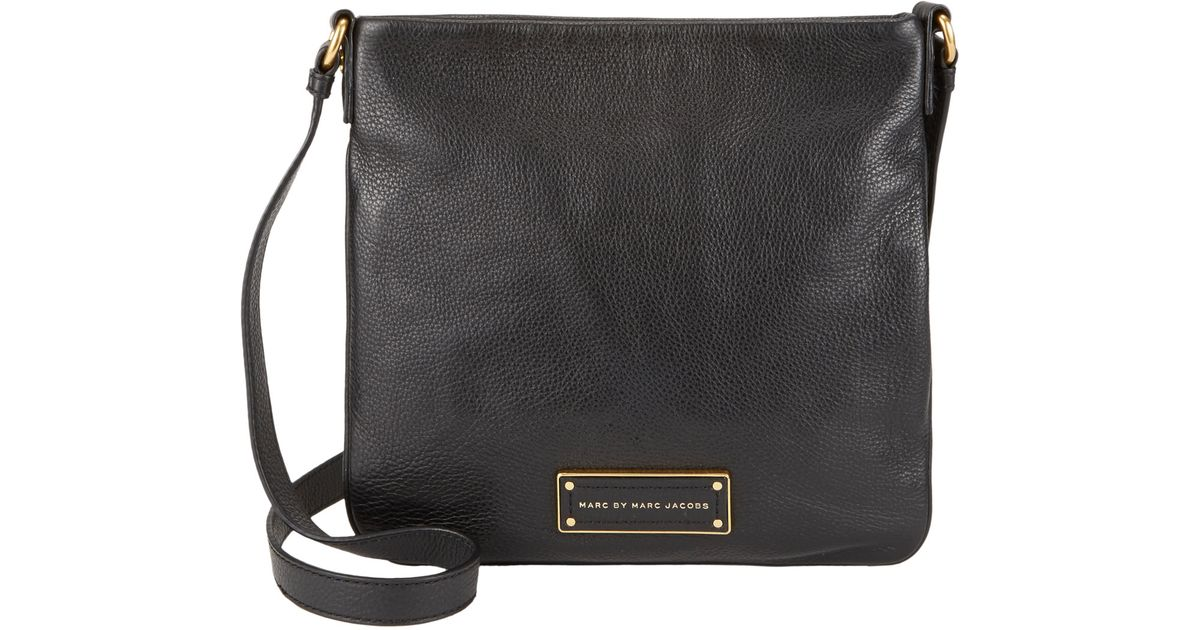 557446fd6 Marc By Marc Jacobs Too Hot To Handle Sia Crossbody Bag in Black - Lyst