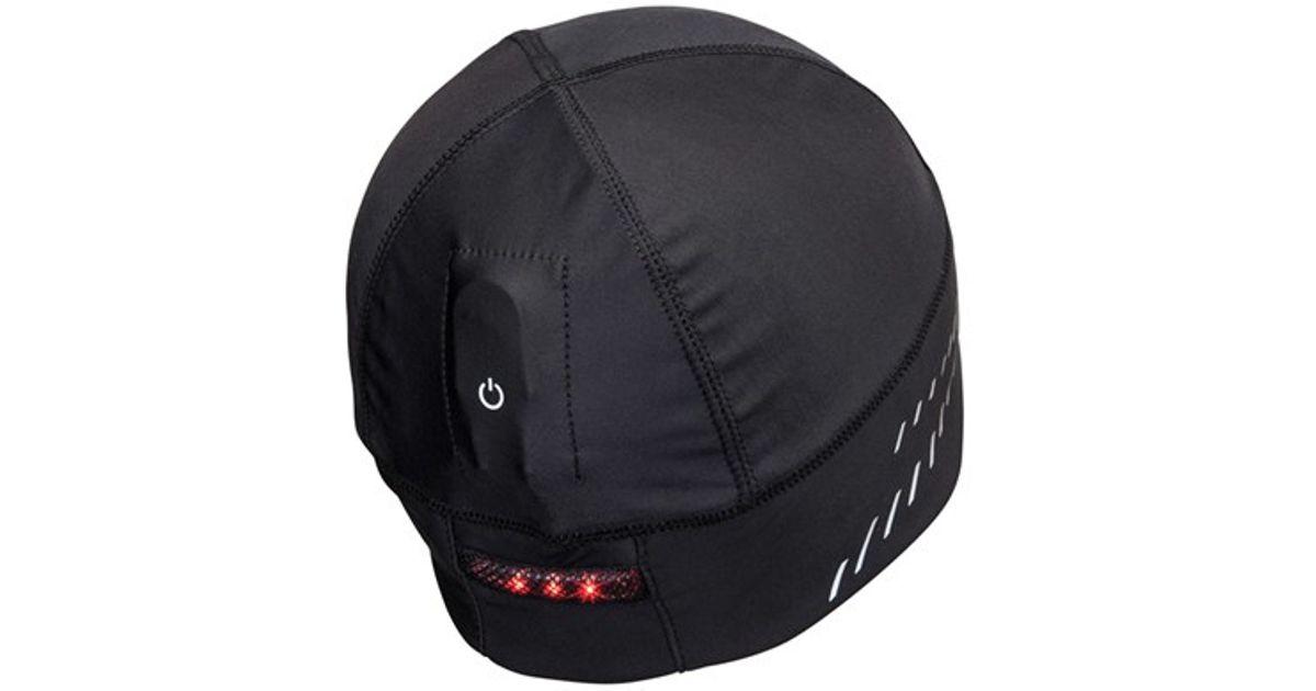 Lyst - Nathan  domelight  Led Running Beanie in Black for Men 44a2e900d11d