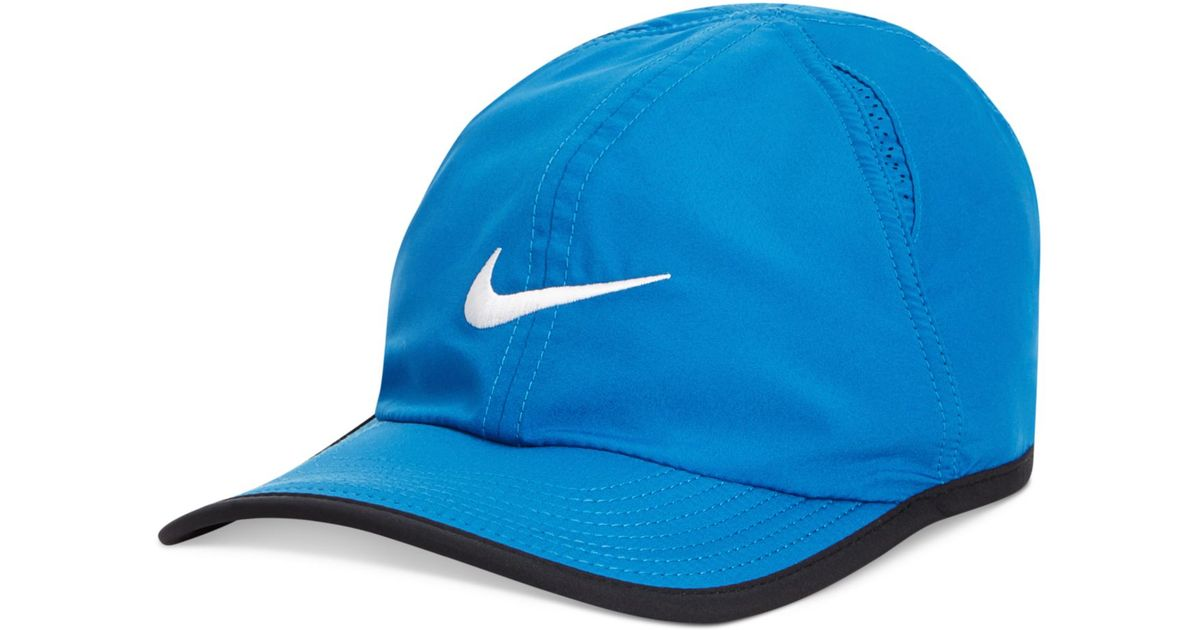 Lyst - Nike Dri-Fit Featherlight Performance Hat 2.0 in Blue for Men 801a4fd6c93
