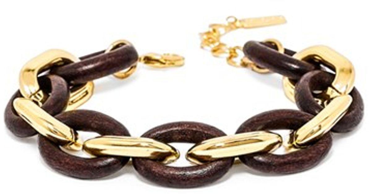 Lyst Baublebar Cypress Links Bracelet In Metallic