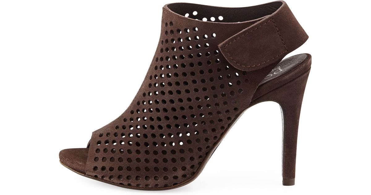 Pedro Garcia Perforated Sofia Booties sale collections discount the cheapest pick a best for sale 4pqZ7k