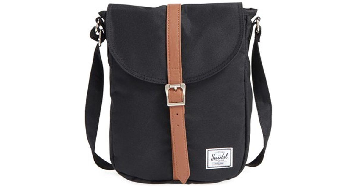 155787670545 Lyst - Herschel Supply Co.  kingsgate  Crossbody Bag in Black
