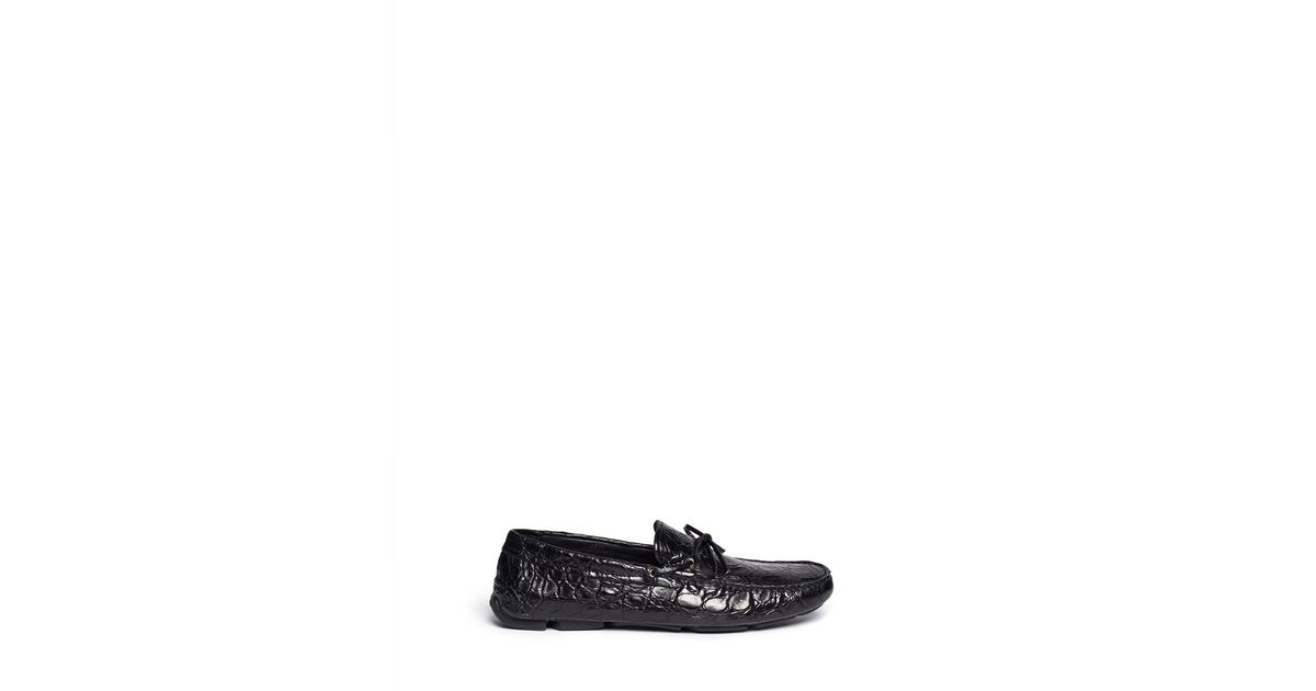 Armani Croc Mens Shoes
