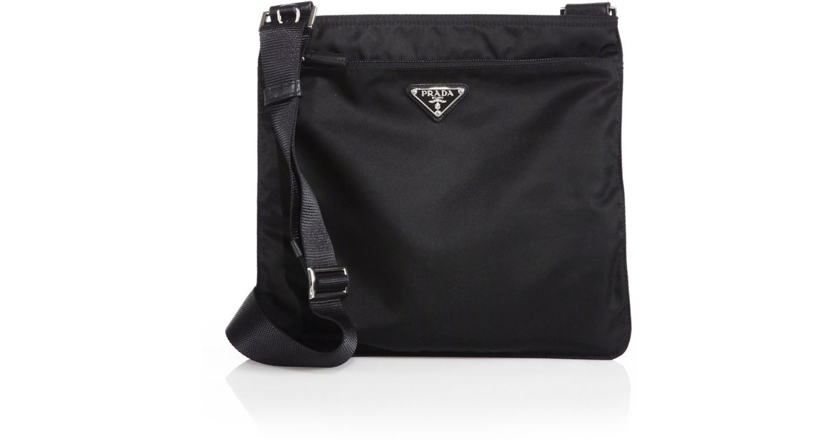 63f9880e662b Prada Women's Small Nylon Crossbody Bag - Black in Black - Save 30% - Lyst