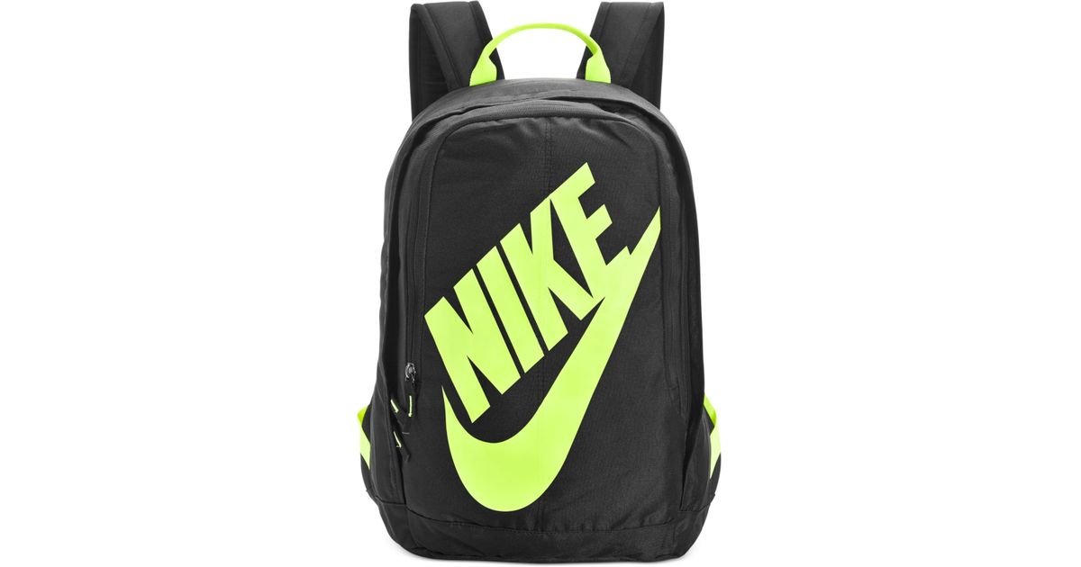 dcdfa0af39 Nike Hayward Neon Backpack in Black for Men - Lyst
