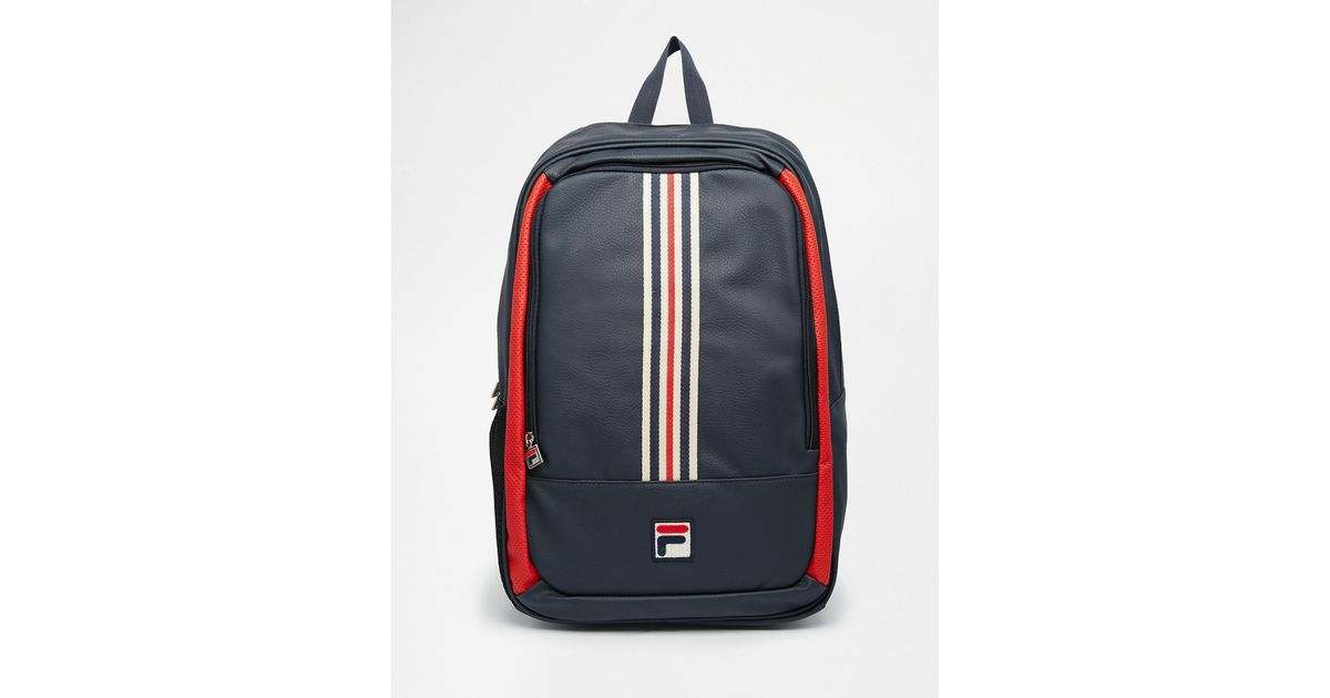Lyst - Fila Vintage Large Backpack in Blue for Men
