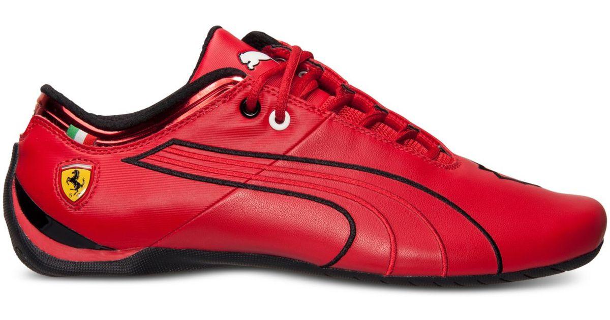 ae8e07f1d8da79 ... ireland lyst puma mens future cat m1 sf ferrari casual sneakers from  finish line in red