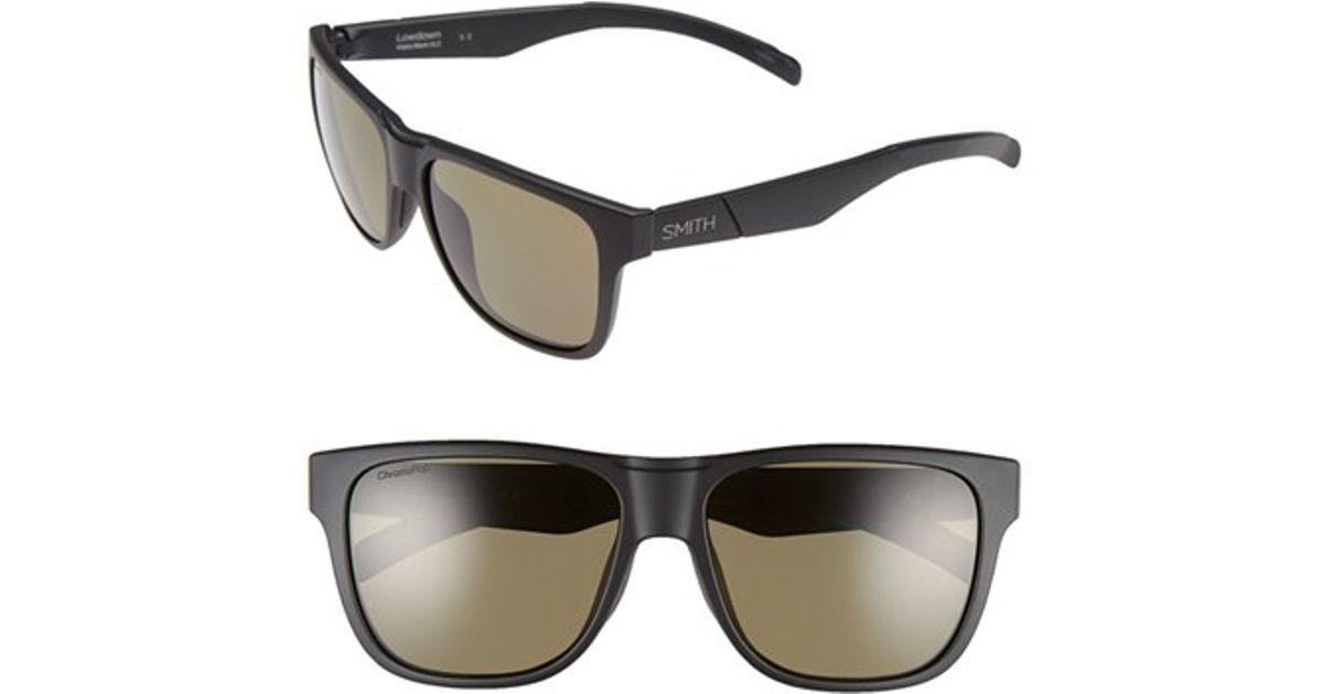 41de9900f86 Smith optics   39 lowdown  39  56mm Polarized Sunglasses in Black