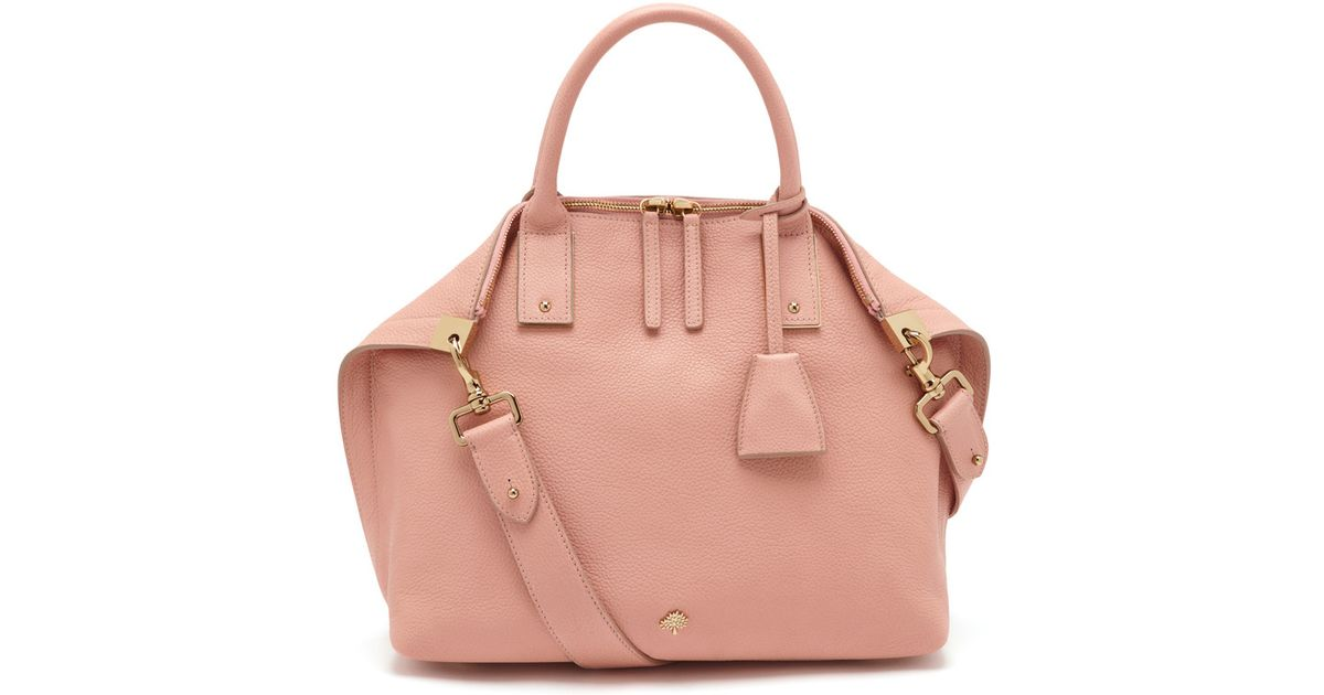 54958a2ea4 Mulberry Small Alice Zipped Tote in Pink - Lyst