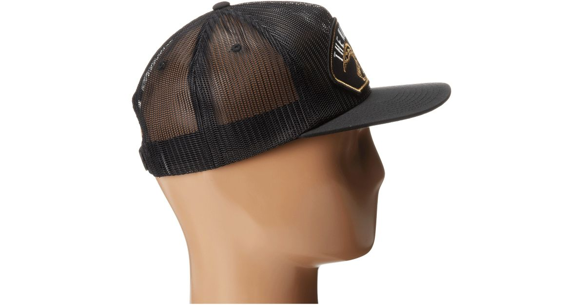 Lyst - Nixon Uss Trucker Hat in Black 645f0161a34