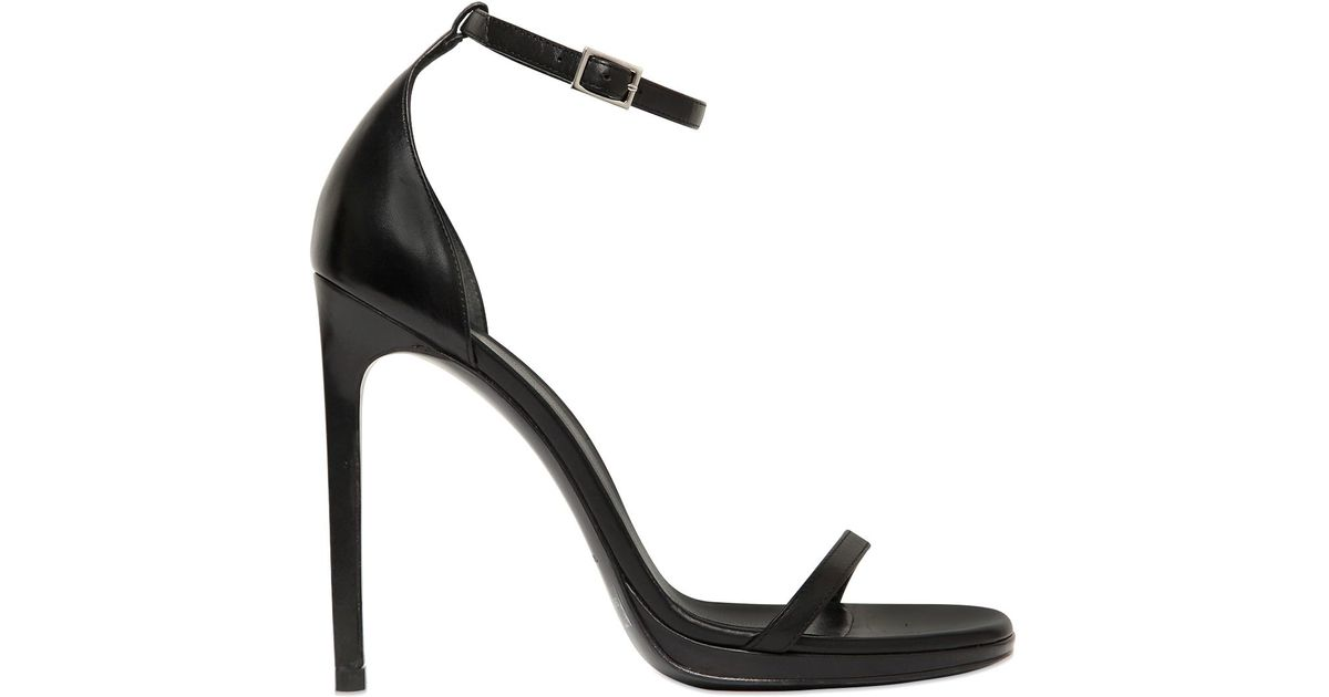 Saint Laurent 110MM JANE PATENT LEATHER SANDALS UIasl4eBl