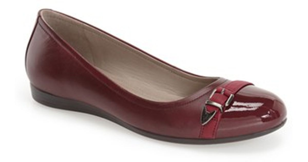Ecco Shoes Women S Red Flats