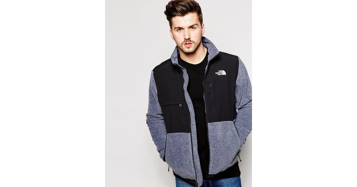 e156dab4c312 ... where to buy lyst the north face denali ii fleece jacket in gray for  men 9988e