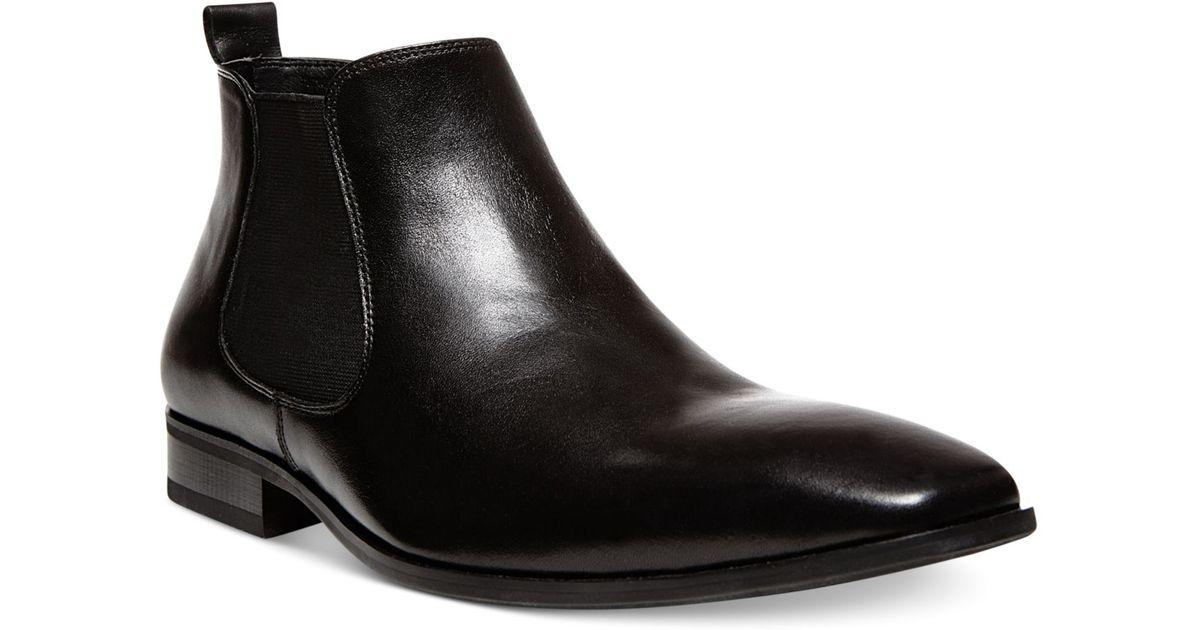 e14b4e73944 Lyst - Steve Madden Bennyy Chelsea Boots in Black for Men