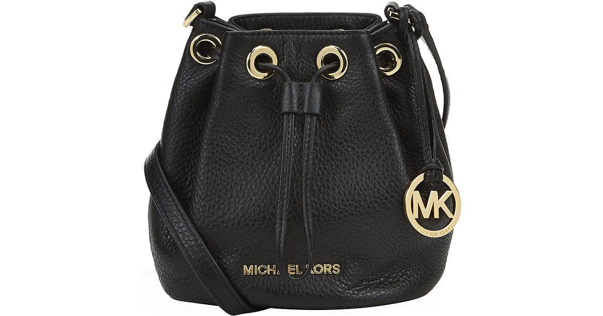 7756ac312259 MICHAEL Michael Kors Jules Crossbody Bucket Bag in Brown - Lyst