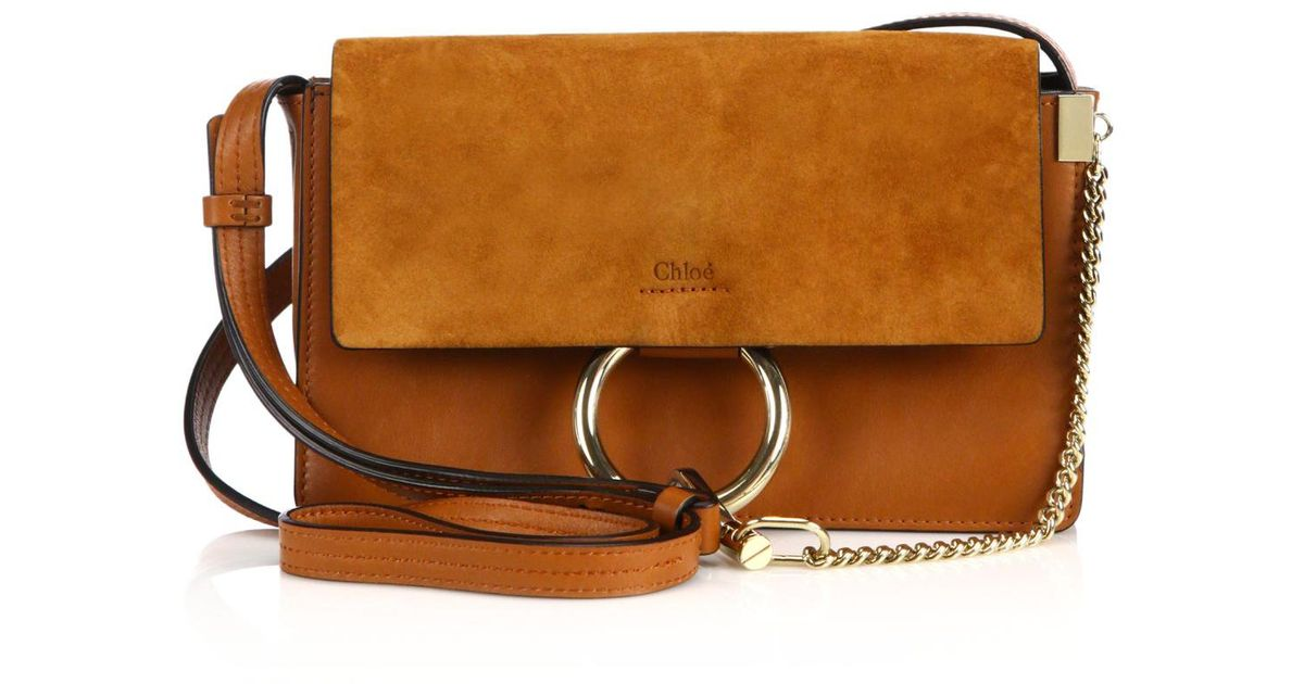 replica chloe purse - chloe faye suede and leather clutch, chloe outlet online