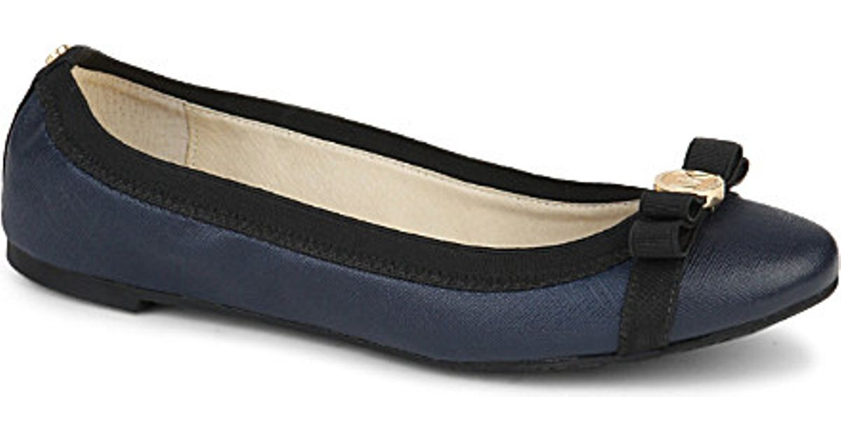 de23e455aac5 Michael Michael Kors Dixie Ballet Shoes - For Women in Blue - Lyst