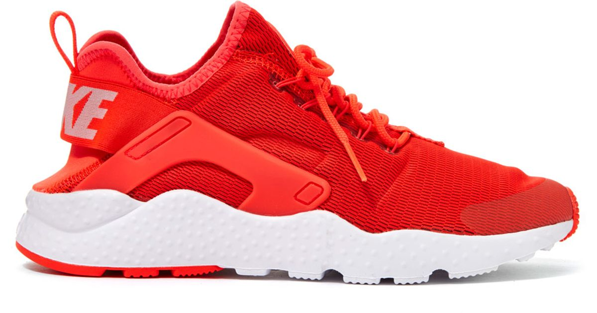 157bcfabaa02 ... amazon lyst nike red air huarache run ultra trainers in orange 179bb  40c99