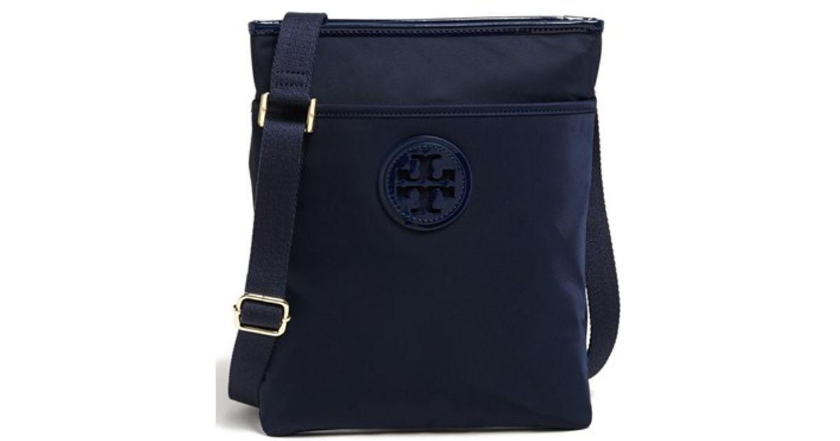 f25effb9f4a3 Lyst - Tory Burch Nylon Crossbody Bag in Blue