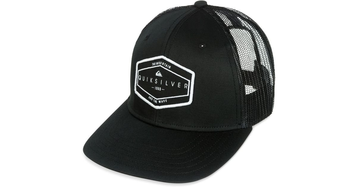 8d0e7a2aa5e ... netherlands lyst quiksilver forever hat in black for men 757e4 93225