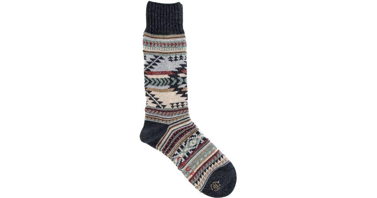 Chup Katsina Sock In Charcoal in Gray for Men | Lyst