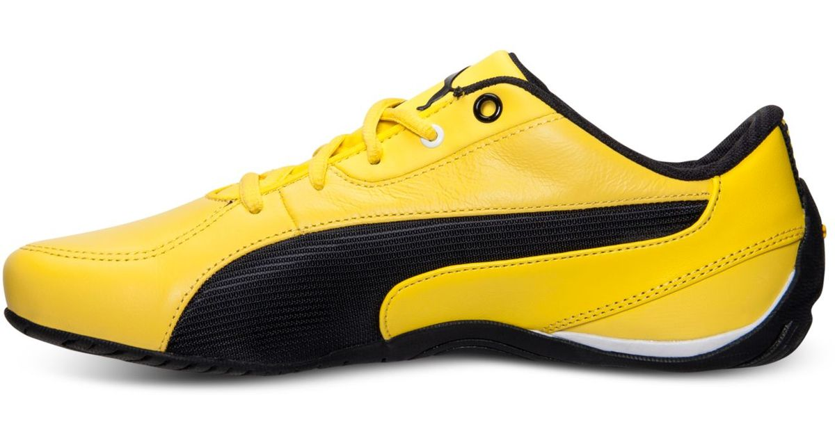 Lyst - PUMA Men S Drift Cat 5 Sf Casual Sneakers From Finish Line in Yellow  for Men 33da59107