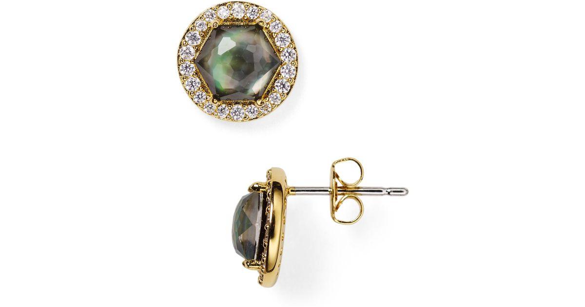 750eea5f0 Lyst - Nadri Sterling Starry Eyes Mother-of-pearl Stud Earrings - 100%  Bloomingdale's Exclusive in Metallic