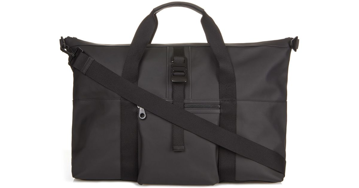 b9c7604cda 0f793 838df  promo code for lyst mulberry fleet coated canvas weekend bag  in gray for men e20e6 4190d