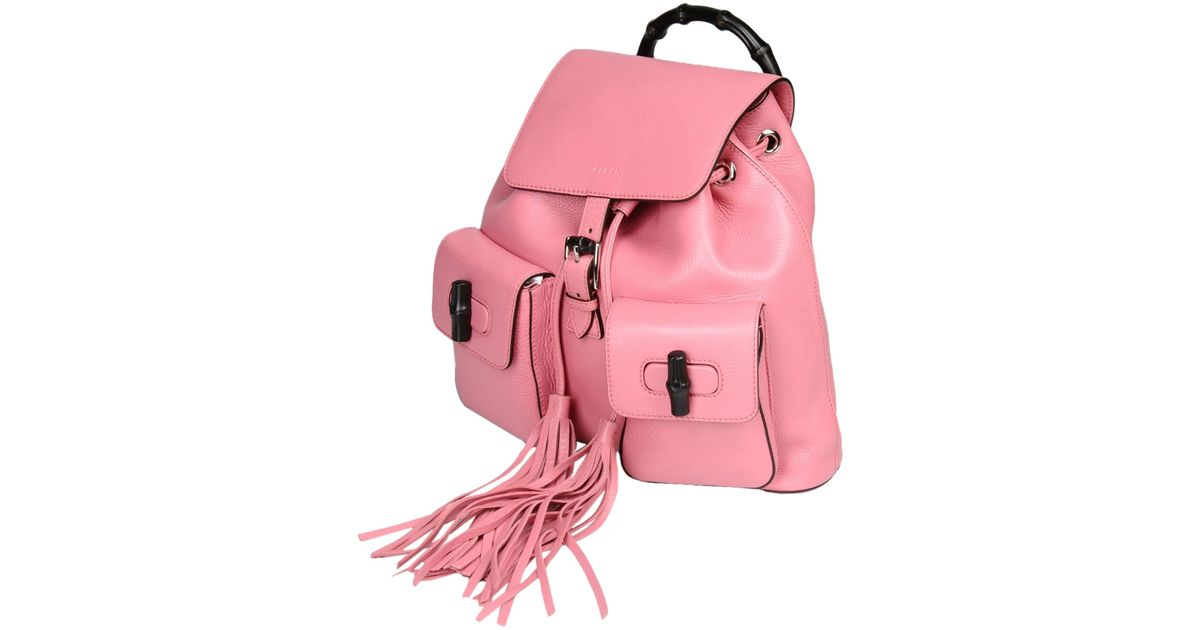 Gucci Rucksacks & Bumbags in Pink (Pastel pink) | Lyst