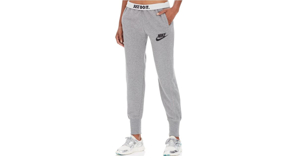 e03b57bfc466 Lyst - Nike Rally Jogger Pants in Black