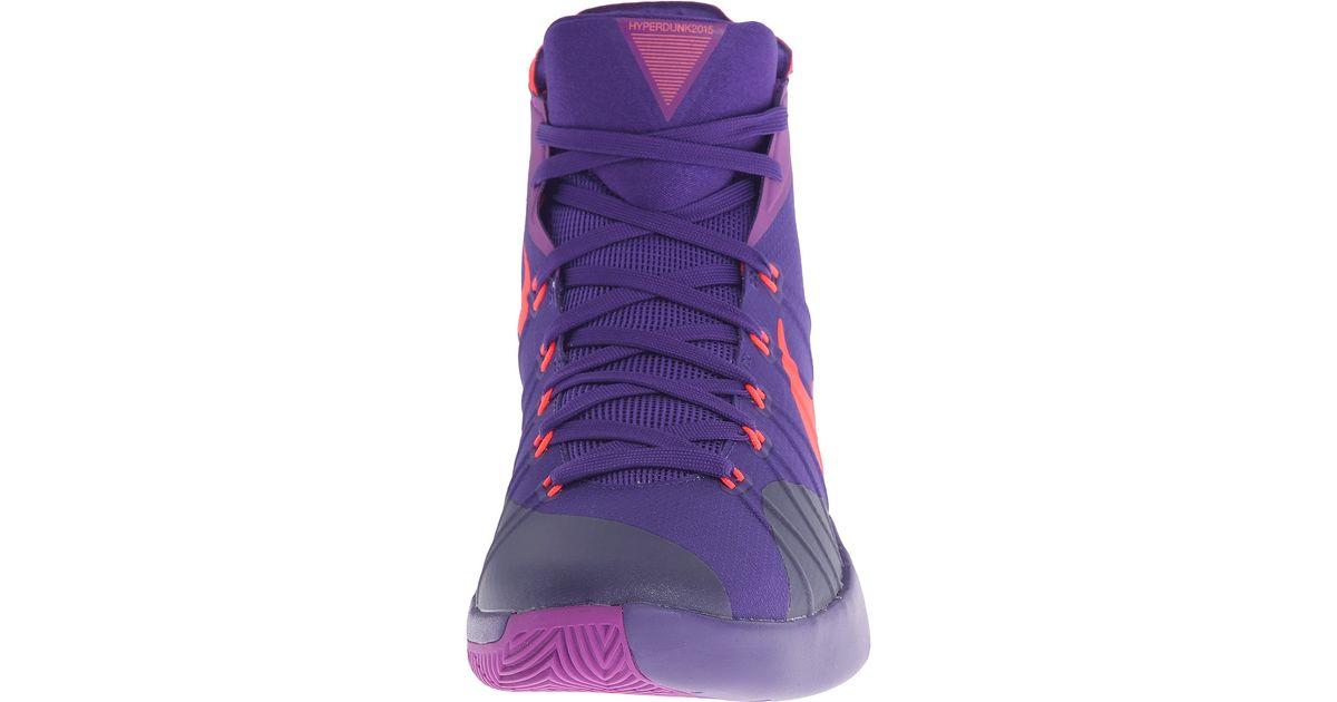huge discount 24dac 6c721 ... usa lyst nike hyperdunk 2015 in purple for men f9d82 26e24