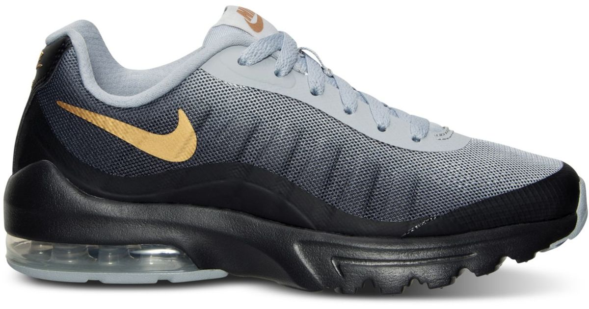 05e7ce3f260 ... top quality lyst nike womens air max invigor print running sneakers  from finish line in black