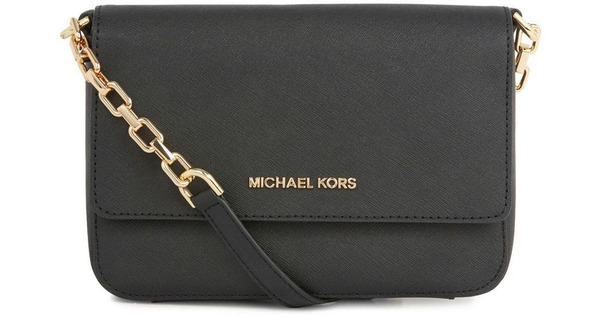 d18934ded80 ... MICHAEL Michael Kors Selma Medium Satchel Michael kors Selma Black  Saffiano Leather Crossbody Bag in Black .