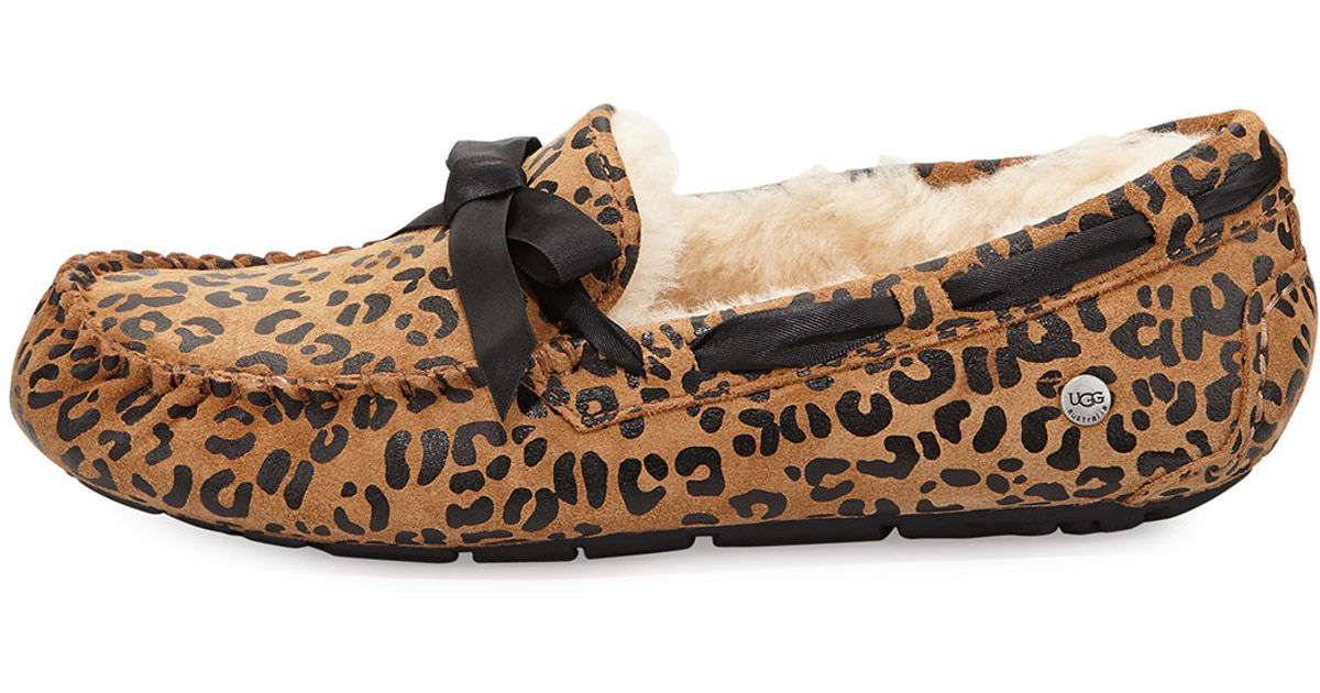 ugg australia leopard dakota leopard bow tie slipper product 2 017645601 normal jpeg