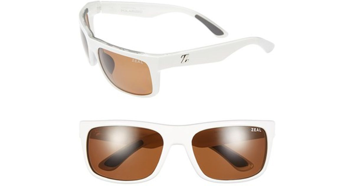 9c934288f95 Lyst - Zeal Optics  essential  Polarized Plant Based Sunglasses in White