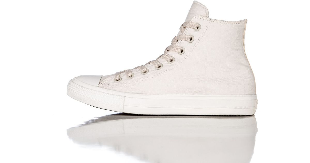 3388140e65ceaa Lyst - Converse Chuck Taylor All Star Ii In Parchment navy in White for Men