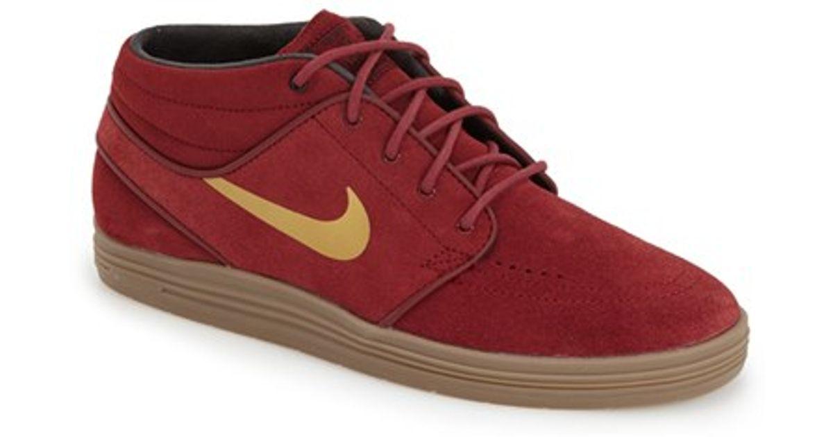 Nike Zoom Stefan Janoski Mi Rouge / Or jeu eastbay e7Kbd0D