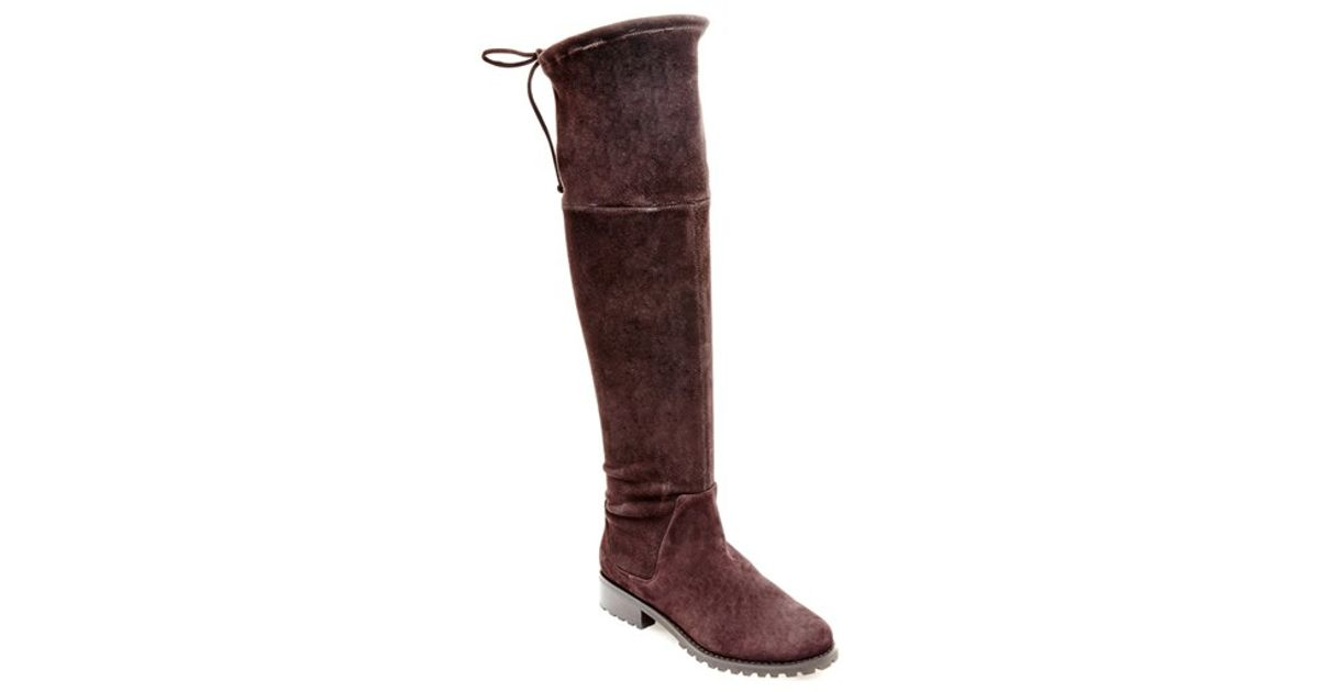 Blondo 'snow' Over The Knee Waterproof Boot in Brown | Lyst
