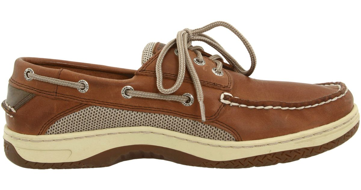 With added comfort, support and traction, the Sperry Top Sider® Billfish boat shoe will help you reel in the big ones. The non-marking rubber outsole features /5(34).