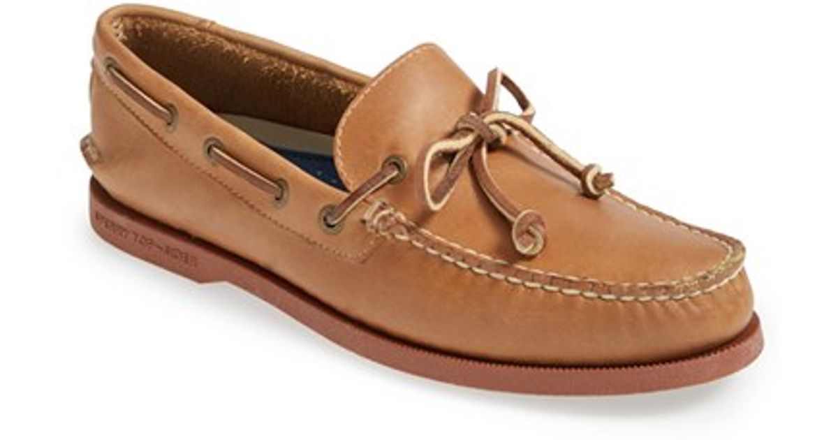 Lyst - Sperry Top-Sider 'authentic Original 1 Eye' Boat Shoe in Brown for  Men