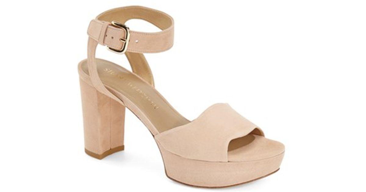 Stuart Weitzman Realdeal Suede Sandal (Women's) 6qChYk