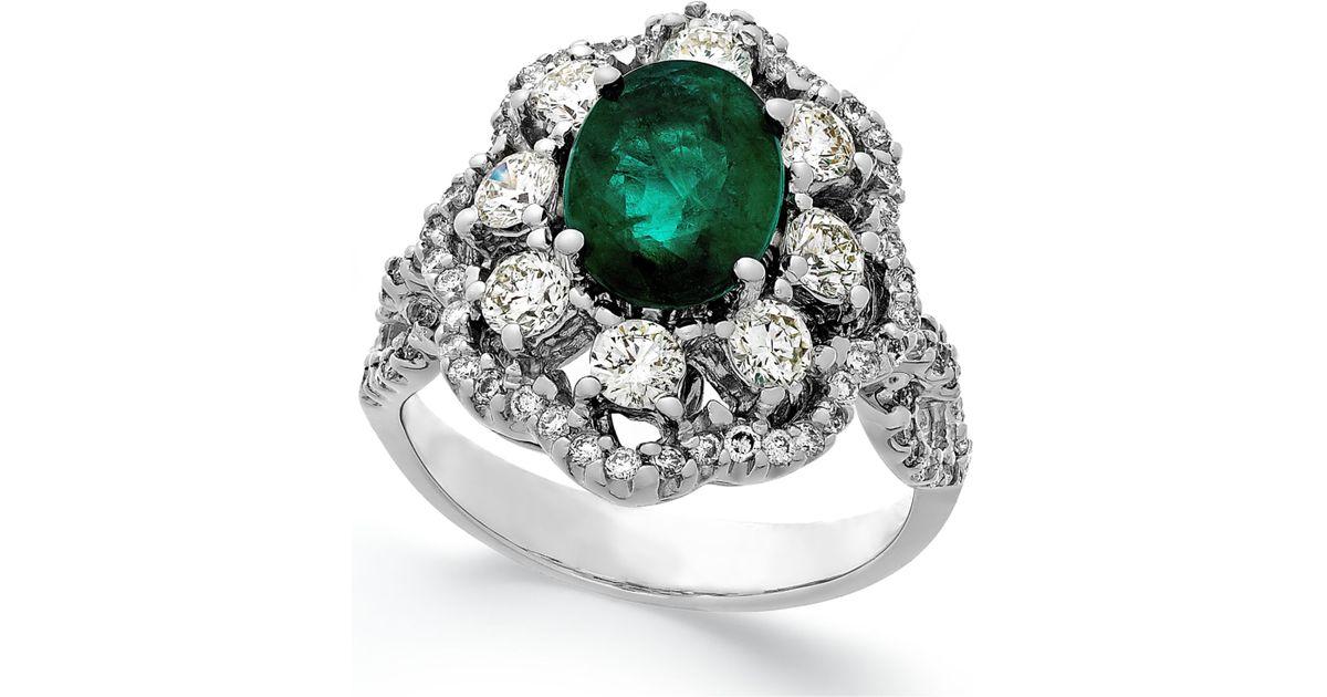 macy s emerald 1 3 4 ct t w and 1 1 5 ct t w
