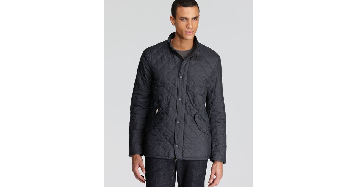 Lyst Barbour Flyweight Chelsea Quilted Jacket In Blue For Men