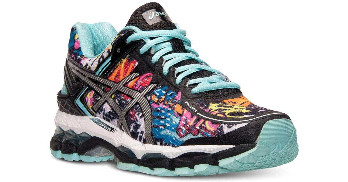 Lyst - Asics Women s Gel-kayano 22 Nyc Running Sneakers From Finish Line in  Blue 592142353