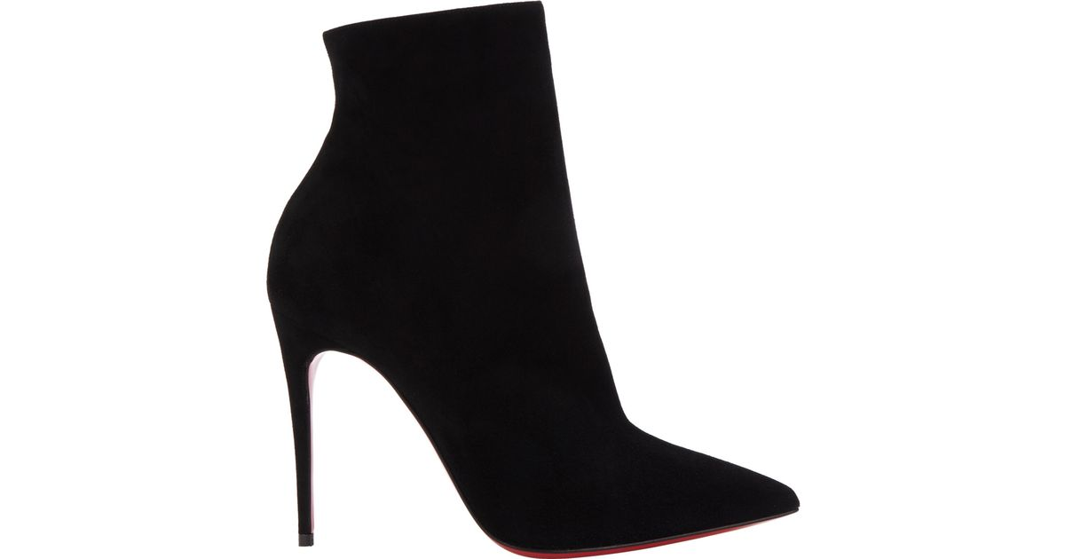 6ffa4ece453 Lyst - Christian Louboutin So Kate Ankle Booties in Black