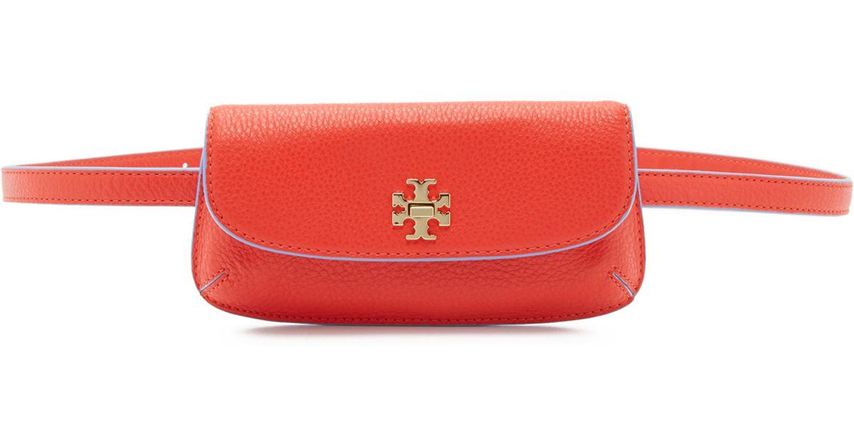 481bd6a6bb63 Lyst - Tory Burch Diana Belt Bag