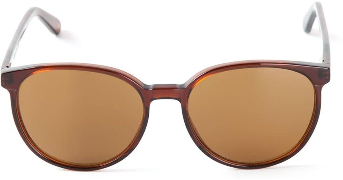 4b83e379c5a Lyst - Lgr  keren  Sunglasses in Brown