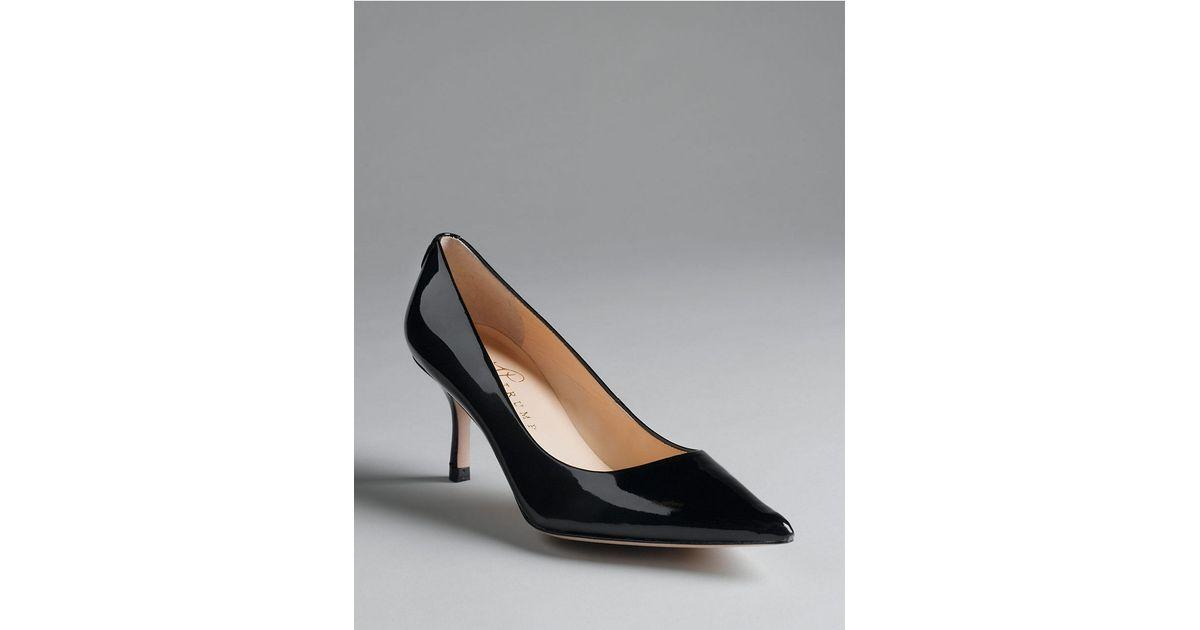 e5c2caebdf2 Lyst - Ivanka Trump Indico Patent Leather Pumps in Black