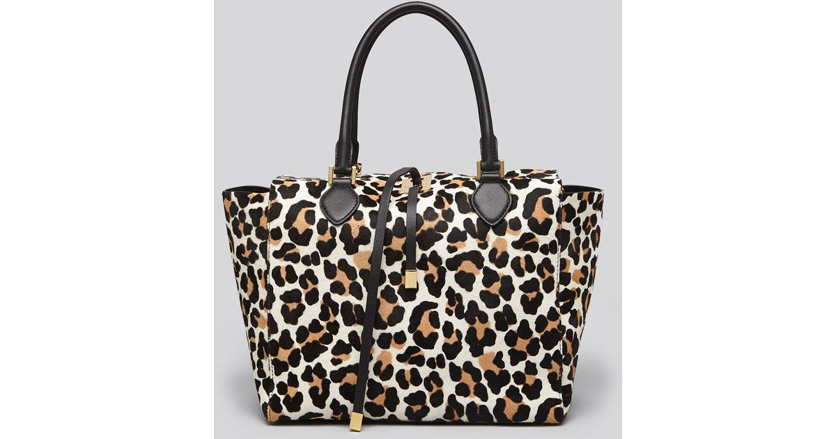 0d95d0c5f51e ... Geic Csytreptiles Michael Kors Lana Large Calf Hair Tote Bag In Black  Lyst .