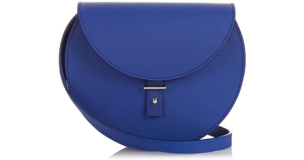 ff1603fd412 Lyst - PB 0110 Ab21 Leather Cross-body Bag in Blue